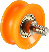 uxcell Bearing Roller with Threaded Rod 30x13mm M6