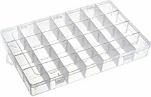 uxcell Component Storage Box - PP Adjustable 28