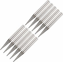 uxcell Diamond Burrs Grinding Drill Bits for