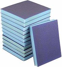 uxcell Sanding Sponge Blocks 220-Grits Medium Grit