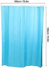 Uxsiya Bath Curtain Polyester Fabric Bathroom