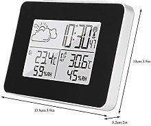 Uxsiya Snooze Wireless Weather Clock Decoration