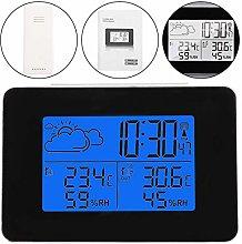 Uxsiya Wireless Weather Clock LCD Decoration