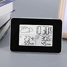 Uxsiya Wireless Weather Clock Snooze Kitchen