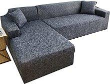 uyeoco Sofa Covers L Shape Sofa Slipcover Stretch