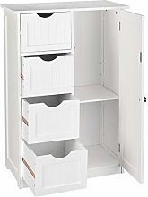 uyuzhen Free Standing Bathroom Cabinet with Large