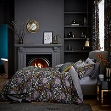 V & A Peony Trail Bedding, Midnight