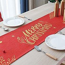V-ambm Christmas Table Runner Christmas Linen Long