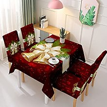 V-ambm Christmas tablecloth celebration dirt
