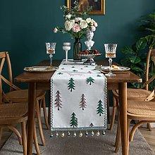 V-ambm Christmas tablecloths Christmas linen long