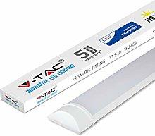 V-TAC 10W 1ft LED Batten Fittings Integrated Tube