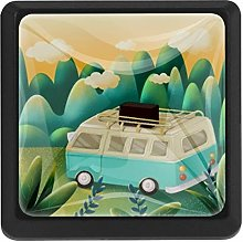 Vacation RV Square Cabinet Knobs Cabinets Drawer