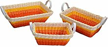 Vacchetti 16160400AR Basket, Natural Fiber,