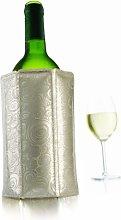 Vacu Vin 38805626 Rapid Ice Wine Cooler-Platinum,
