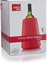 Vacu Vin Act. Cooler Elegant Red, 7.3x31.2x22.4 cm