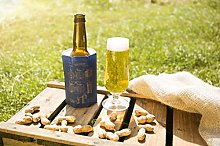 Vacu Vin Active Cooler Beer Craft, Silicone, Blue,