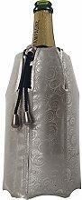 Vacu Vin Rapid Ice Champagne Cooler - Platinum