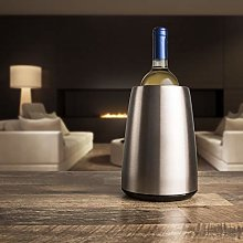 Vacu Vin Rapid Ice Elegant Wine Cooler - Stainless