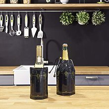 Vacu Vin Rapid Ice Wine and Champagne Cooler Set -