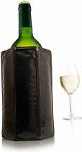 Vacu Vin Rapid Ice Wine Cooler 38804606 Black