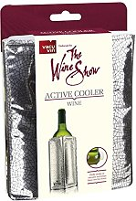 Vacu Vin The Wine Show Active Cooler Wine, Silver,