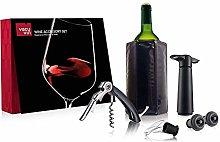 Vacu Vin Wijnset - 6 delig