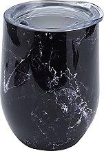 Vacuum Cup,320ml Vacuum Cup Black Cracked Texture