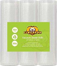 Vacuum Sealer Roll, Lionpapa Vacuum Food Sealer