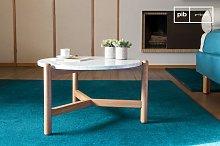 Västra marble coffee table