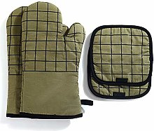 vahome Cotton Oven Mitts and Potholders Sets 4pcs