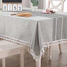 Vailge Tablecloth Rectangular Linen Tablecloth