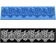 VAK Flower Pattern Lace Mold Cake Mat Silicone