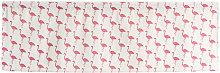Valance Flamingo Printing Blackout Window Curtain