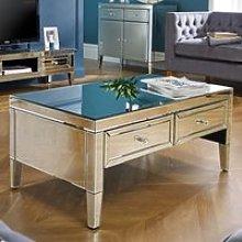 Valencia Mirrored Coffee Table
