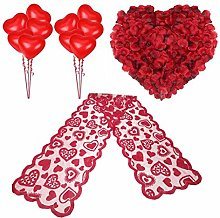 Valentine's Day Decorations Heart Balloons Red