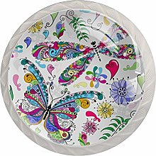 Valentine Floral Butterfly Dragonfly Drawer Knobs