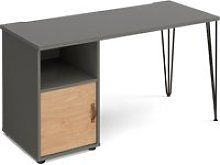 Valentine Rectangular Home Office Desk With