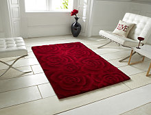 Valentine VL 10 Red Rectangle Modern Rug