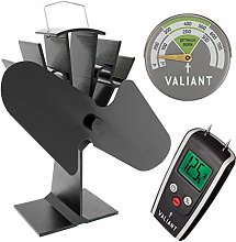 Valiant Stove Efficiency Pack (Includes Stove Fan,