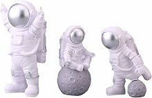 VALICLUD 3pcs Outer Space Cupcake Toppers Planet