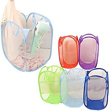 Valink Foldable Pop Up Mesh Laundry Basket,