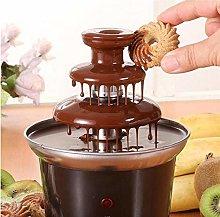 Valink Mini 3 Tiers Chocolate Fondue Fountain Easy