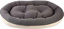 Valink Plush Soft Pet Dog Bed Sleeping Nest Oval