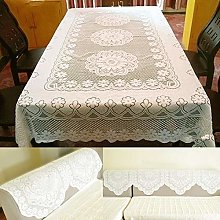 Valink Round&Rectangle Table Cover,Lace Dining