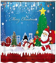 Valink Shower Curtain Exquisite Christmas
