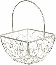 Vallauris Wire Mesh Decorative Basket Lily Manor
