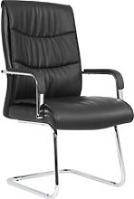 Valley Visitor Chair, Black