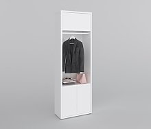 Vallie 2 Door Wardrobe Wade Logan