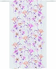 Vallila Eden 140x250 cm, pink, floral curtain for