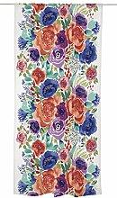 Vallila Elea Curtain 140x250 cm, Colorful, Floral,